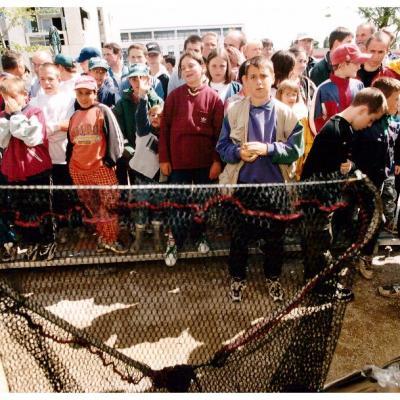 Concours de pêche jeunes a Nancy